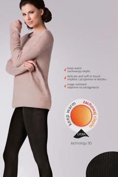 Теплые женские колготки Gabriella Warm up Fashion 200 den