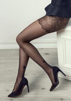 Тонкие колготки с кристалликами Marilyn Gucci G30 20 den