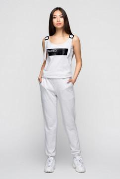 Трикотажный комбинезон A-Dress 80250