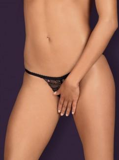 Трусики с доступом снизу Obsessive Chiccanta crotchless panties