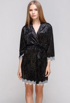 Велюровый халат Serenade 5031