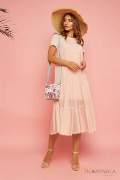Воздушное расклешенное платье «baby doll» Domenica Р 1803