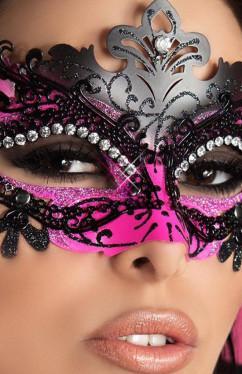 Загадочная маска с блестящими кристаллами ChiliRose CR-3993