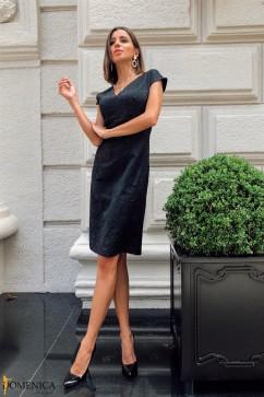 Жакардовое платье-футляр Domenica Р 2590