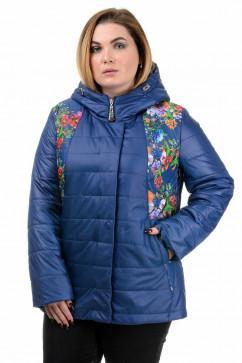 Женская демисезонная куртка Oldisen Принт