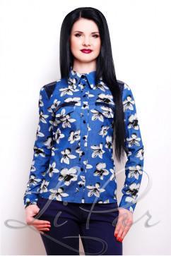 Женская рубашка из коттона LiPar 2036