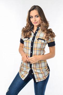 Женская рубашка в клетку LiPar 2003