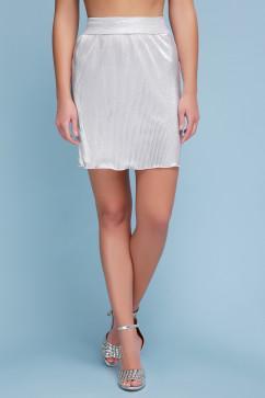 Женская юбка Glem Плиссе (короткая)