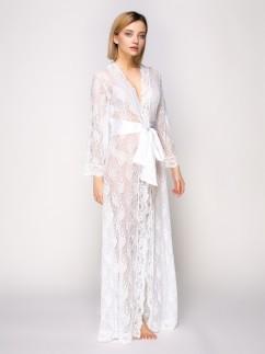 Женский гипюровый халат Serenade 781