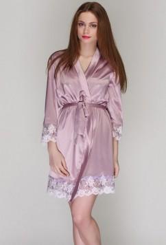 Женский халат из шелк-сатина Serenade 141