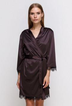 Женский халат из шелк-сатина Serenade 491