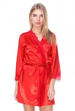 Женский халат с кружевом Serenade 154